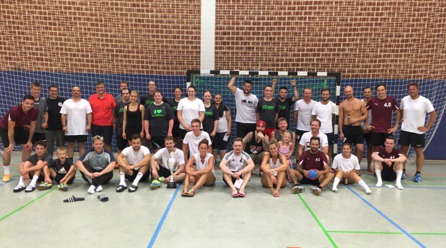Dorf spielt Handball